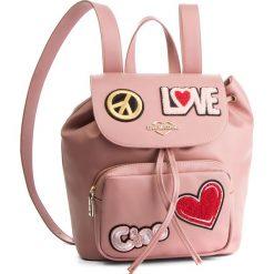 Plecak LOVE MOSCHINO - JC4082PP17LJ0600 Rosa. Czerwone plecaki damskie Love Moschino, ze skóry ekologicznej, eleganckie. Za 959,00 zł.