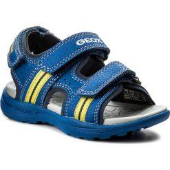 Sandały GEOX - J Vaniett B. B J825XB 015CE C4344 M Royal/Lime. Niebieskie sandały męskie skórzane marki Geox. Za 179,00 zł.