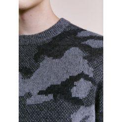 BOSS CASUAL ARMIETO Sweter dark blue. Niebieskie kardigany męskie marki BOSS Casual, l, z bawełny. W wyprzedaży za 546,75 zł.
