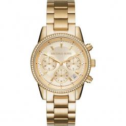 Zegarek MICHAEL KORS - Ritz MK6356 Gold/Gold. Żółte zegarki damskie Michael Kors. Za 1299,00 zł.
