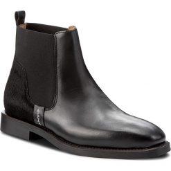 Botki GANT - Jennifer 15551093 Black G00. Czarne buty zimowe damskie GANT, z materiału. W wyprzedaży za 349,00 zł.