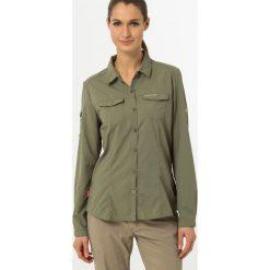 Craghoppers Koszula soft moss. Zielone topy sportowe damskie Craghoppers, z materiału, sportowe. Za 299,00 zł.