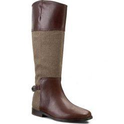 Buty zimowe damskie: Oficerki LAUREN RALPH LAUREN - Berna N86 Q0350 ODJKE W2224 Brown/Tan