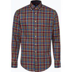 Fynch Hatton - Koszula męska, niebieski. Niebieskie koszule męskie non-iron Fynch-Hatton, m, w kratkę, z bawełny. Za 249,95 zł.