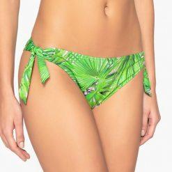 Stroje dwuczęściowe damskie: Dół bikini z nadrukiem, wiązany po bokach