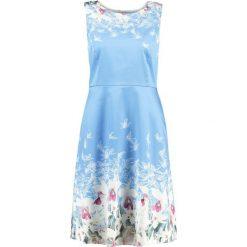 Sukienki hiszpanki: Yumi VALENTINE Sukienka letnia sky blue