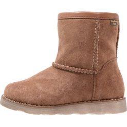 Froddo Śniegowce brown. Brązowe buty zimowe damskie Froddo, z materiału. W wyprzedaży za 295,20 zł.
