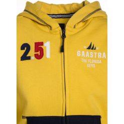 Gaastra Bluza rozpinana lemon zest. Żółte bluzy chłopięce rozpinane Gaastra, z bawełny. W wyprzedaży za 239,20 zł.