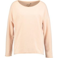 Bluzy rozpinane damskie: Juvia CREW NECK PLAIN Bluza sand