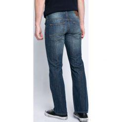 Mustang - Jeansy Oregon. Czarne jeansy męskie slim marki Mustang, l, z bawełny, z kapturem. W wyprzedaży za 169,90 zł.