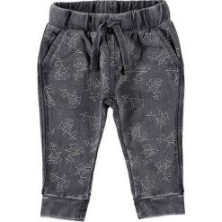 Spodnie niemowlęce: Spodnie dresowe w kolorze ciemnoszarym