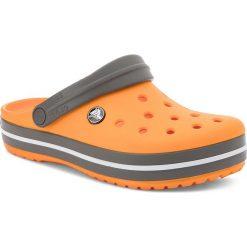 Chodaki damskie: Klapki CROCS - Crocband 11016 Blazing Orange/Slate Grey