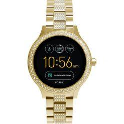 Fossil Q Q VENTURE Zegarek goldcoloured. Żółte zegarki damskie Fossil Q. W wyprzedaży za 1007,20 zł.