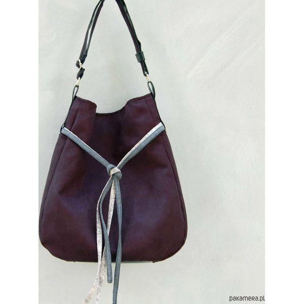 e2eaa88277d595 SIMPLY BAG - duża torba worek - czarna - Czarne torebki klasyczne ...