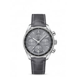 ZEGAREK OMEGA Speedmaster 324.38.38.50.06.001. Czarne zegarki damskie marki KALENJI, ze stali. Za 30500,00 zł.