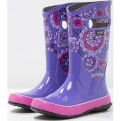 Buty zimowe damskie: Bogs PANSIES  Kalosze violet/multicolor