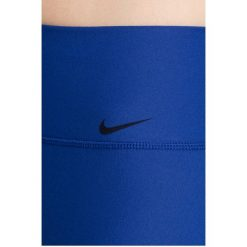 Nike - Legginsy. Szare legginsy skórzane marki Nike, l. W wyprzedaży za 119,90 zł.