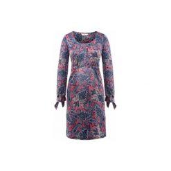 Bellybutton  Sukienka dla kobiet w ciąży ARDELIA winter rose/azure/white printed. Białe sukienki ciążowe bellybutton, z materiału. Za 309,00 zł.