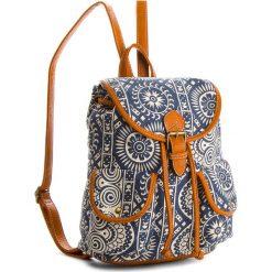 Plecaki damskie: Plecak NYLON RED - RC13484  Granatowy