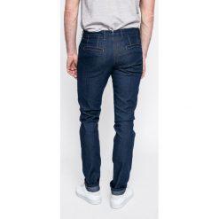 Trussardi Jeans - Jeansy. Niebieskie jeansy męskie relaxed fit marki Trussardi Jeans. W wyprzedaży za 299,90 zł.