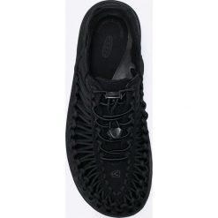 Keen - Sandały Uneek. Czarne sandały męskie marki Keen, z gumy. W wyprzedaży za 279,90 zł.