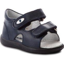 Sandały NATURINO - Falcotto By Naturino 0011500675.01.9102 Navy. Niebieskie sandały męskie skórzane Naturino. W wyprzedaży za 229,00 zł.