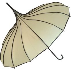 """Parasole: Parasol """"Pagoda"""" w kolorze kremowym"""