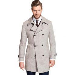 Płaszcz OLIVIERO PSEE000011. Brązowe płaszcze na zamek męskie Giacomo Conti, na jesień, m, z materiału. Za 799,00 zł.