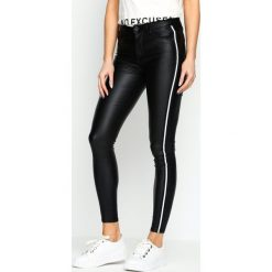 Spodnie damskie: Czarne Spodnie Echoes