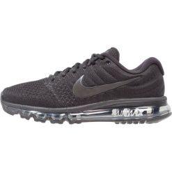 Nike Performance AIR MAX 2017 Obuwie do biegania treningowe black. Czarne buty do biegania męskie Nike Performance, z materiału. Za 799,00 zł.