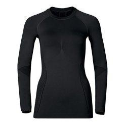 Odzież damska: Odlo Koszulka damska Shirt l/s Crew Neck Evolution Warm Czarna r. L (183131)