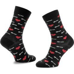 Skarpety Wysokie Unisex HAPPY SOCKS - KTM01-9000 Czarny Kolorowy. Czarne skarpetki męskie marki Happy Socks, w kolorowe wzory, z bawełny. Za 34,90 zł.