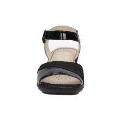 Sandały Caprice  SANDAŁY  9-28250-26. Czarne sandały damskie Caprice. Za 159,99 zł.