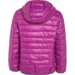 Benetton Kurtka zimowa berry. Fioletowe kurtki dziewczęce zimowe marki Benetton, z materiału. W wyprzedaży za 135,20 zł.