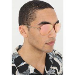 RayBan Okulary przeciwsłoneczne goldcoloured/pink flash/copper. Żółte okulary przeciwsłoneczne damskie lenonki Ray-Ban. Za 609,00 zł.