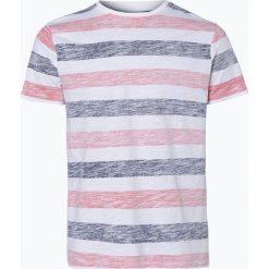 T-shirty męskie: Nils Sundström - T-shirt męski, pomarańczowy