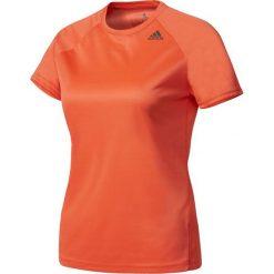Bluzki damskie: Adidas Koszulka damska D2M Tee Lose pomarańczowa r. XS (BK2714)