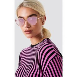 Le Specs Okulary przeciwsłoneczne Echo - Pink. Różowe okulary przeciwsłoneczne damskie aviatory Le Specs. Za 283,95 zł.