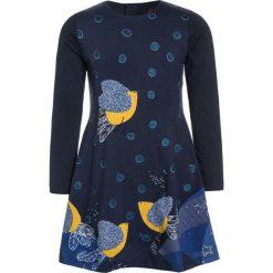 Sukienki dziewczęce z falbanami: Catimini GRAPHIC CITY PANNEAUX Sukienka z dżerseju dark blue