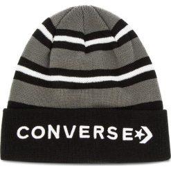Czapka CONVERSE - 609980 Black. Czarne czapki męskie Converse, z materiału. Za 89,00 zł.