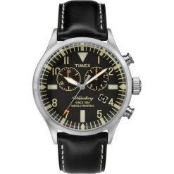 Biżuteria i zegarki męskie: Zegarek Timex Męski TW2P64900 Waterbury Collection Chrono czarny