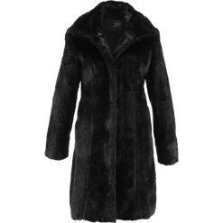 Płaszcze damskie: Płaszcz ze sztucznego futerka bonprix czarny