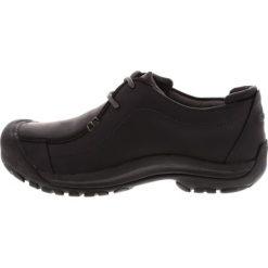 Keen PORTSMOUTH II Obuwie do biegania Turystyka black. Czarne buty trekkingowe męskie Keen, z gumy, do biegania. Za 469,00 zł.