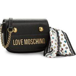 Torebka LOVE MOSCHINO - JC4345PP05K60000  Nero. Czarne listonoszki damskie marki Love Moschino. W wyprzedaży za 429,00 zł.
