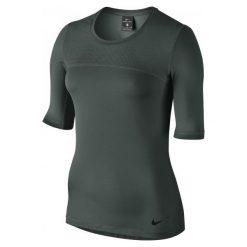 Nike Koszulka Treningowa W Np Hprcl Top Ss S. Czarne bluzki sportowe damskie marki Nike, xs, z bawełny. W wyprzedaży za 139,00 zł.