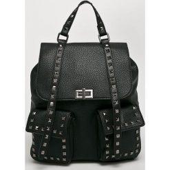 Answear - Plecak. Czarne plecaki damskie marki ANSWEAR. Za 149,90 zł.