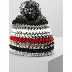 Eisbär ALESSIA Czapka beige/schwarz/ardea. Czarne czapki męskie Eisbär, z materiału. W wyprzedaży za 132,30 zł.