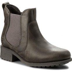Sztyblety UGG - W Bonham 1013893 W/Grey. Szare buty zimowe damskie marki Ugg, z materiału, z okrągłym noskiem. W wyprzedaży za 499,00 zł.