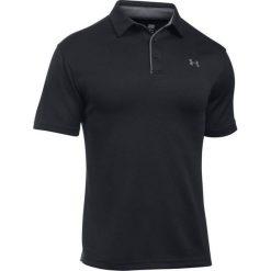 Koszulki polo: Under Armour Koszulka męska Polo-BLK/GPH/GPH czarna r. XL (1290140-001)