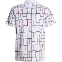 Bluzki dziewczęce bawełniane: Lacoste Sport TENNIS Koszulka polo white/black/red/marino